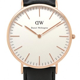 Daniel Wellington Sheffield Rose Gold Watch 40mm