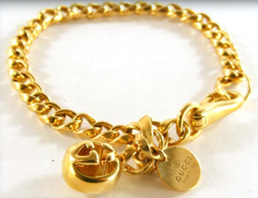 Gucci Icon Boulle Gold Bracelet Clearancesalez.com